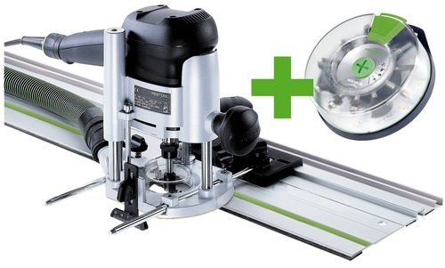 Festool Fresadora OF 1010 EBQ-Set + Box-OF-S 8/10x HW