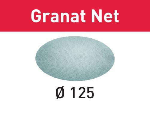 Festool Lixa de rede STF D125 P400 GR NET/50 Granat Net