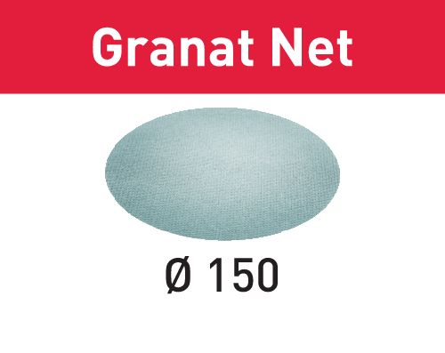 Festool Lixa de rede STF D150 P320 GR NET/50 Granat Net