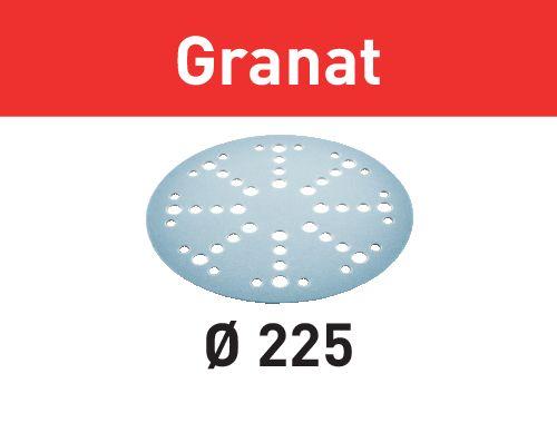 Festool Discos de lixa STF D225/128 P150 GR/25 Granat