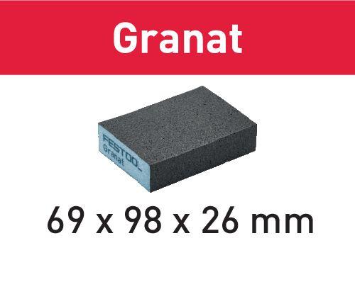Festool Bloco abrasivo 69x98x26 220 GR/6 Granat