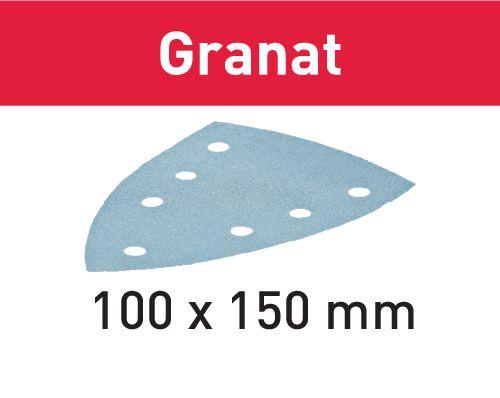 Festool Folha de lixa STF DELTA/7 P80 GR/50 Granat