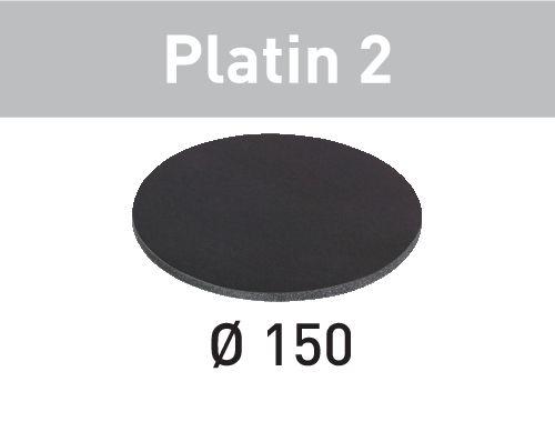 Festool Discos de lixa STF D150/0 S500 PL2/15 Platin 2