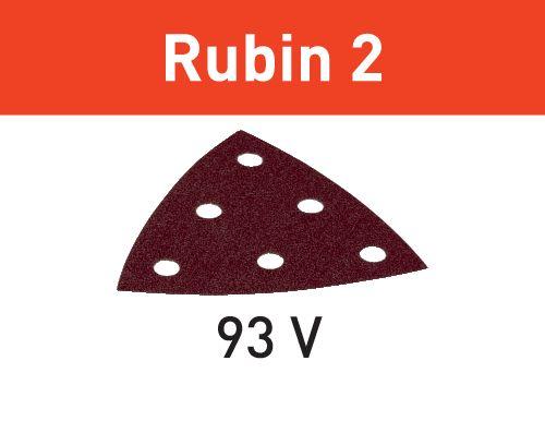 Festool Folha de lixa STF V93/6 P80 RU2/50 Rubin 2