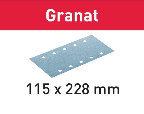 Festool Folhas de lixar STF 115X228 P320 GR/100 Granat